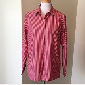 Foxcroft Tops - Foxcroft wrinkle-free pinstripe button down shirt